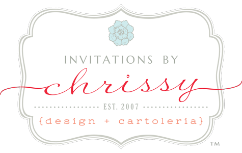 Invitations by Chrissy {design + cartoleria}